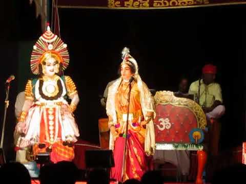 Yakshagana - srinivasa kalyana - mandarthi mela - part 1