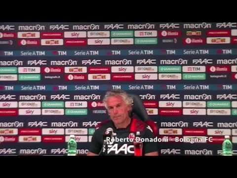 Roberto Donadoni presenta Bologna - Crotone