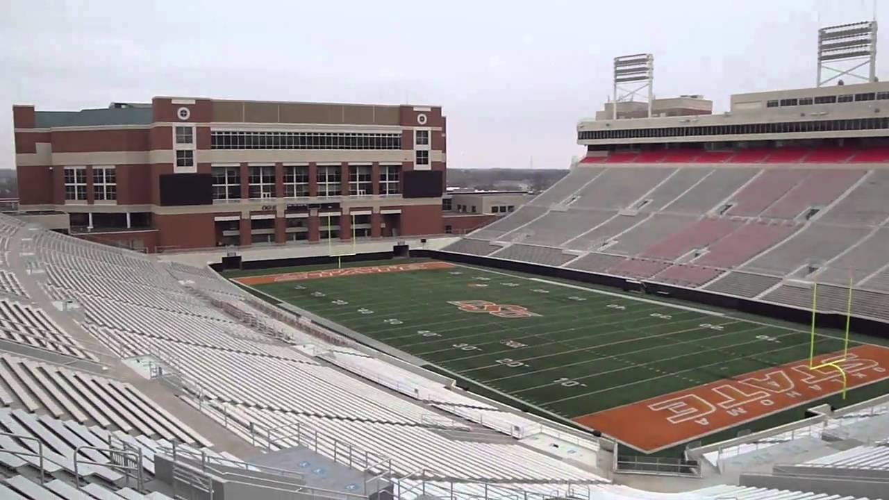 Oklahoma State Football Stadium - YouTube