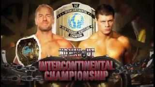 No Way Out 2012 Match Card Christian vs. Cody Rhodes