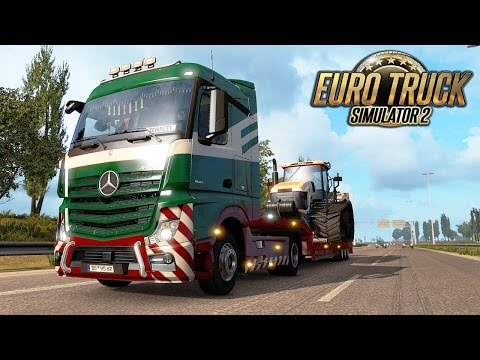 Let's Play Euro Truck Simulator 2 | Episode 1 | From Dortmund To Amsterdam | Trip Estimate 30 Min