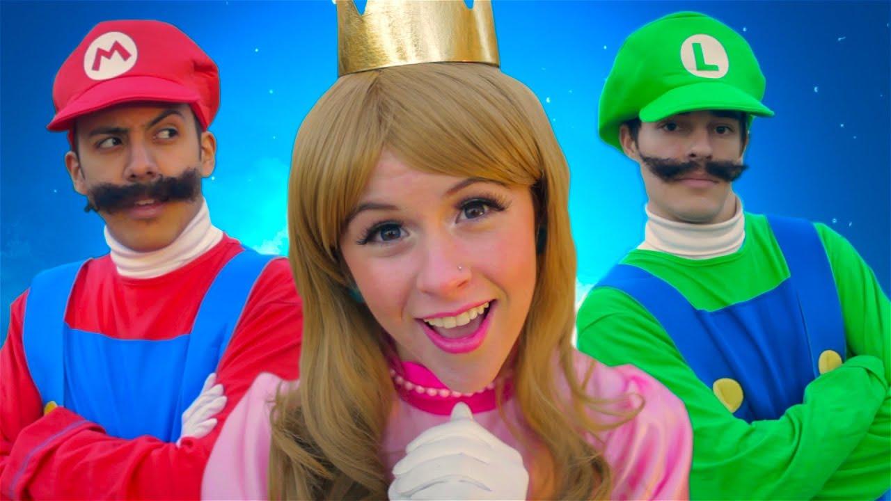 86a4e98b Super Mario 3D World - THE MUSICAL feat. Princess Peach - YouTube