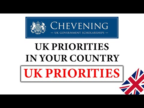 Chevening Interview UK Priority Areas In Your Country | How To Find UK Priority Areas In Any Country