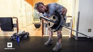 Upper Back & Calves Workout | Day 26 | Kris Gethin's 8-Week Hardcore Training Program