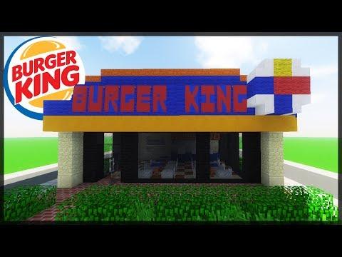 Minecraft: COMO CONSTRUIR UM BURGER KING