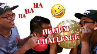 HELIUM VOICE CHALLENGE! Funny Prank wkwkwk