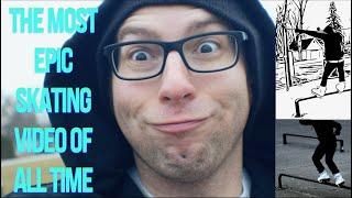 THE MOST EPIC SKATING VIDEO OF ALL TIME- CRINGE VLOG | ALEX LEYBA