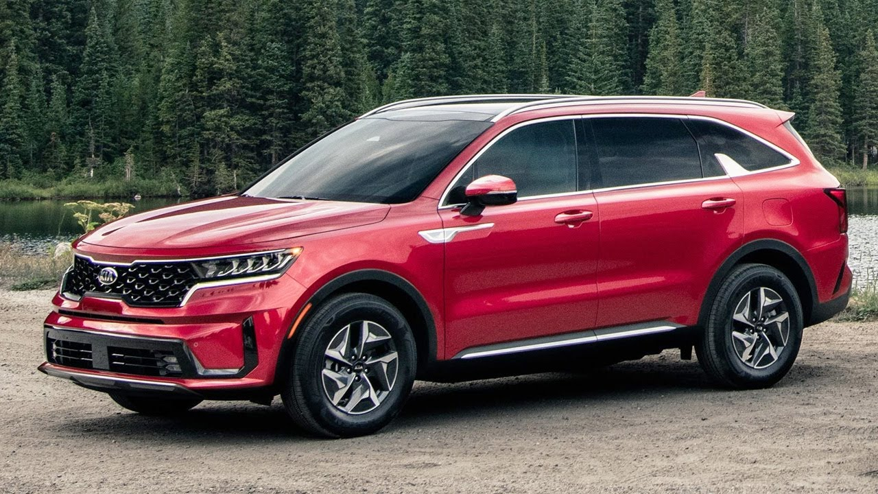 2021 Kia Sorento HEV AWD SUV - YouTube