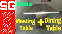conference room table design making for office by SG Works