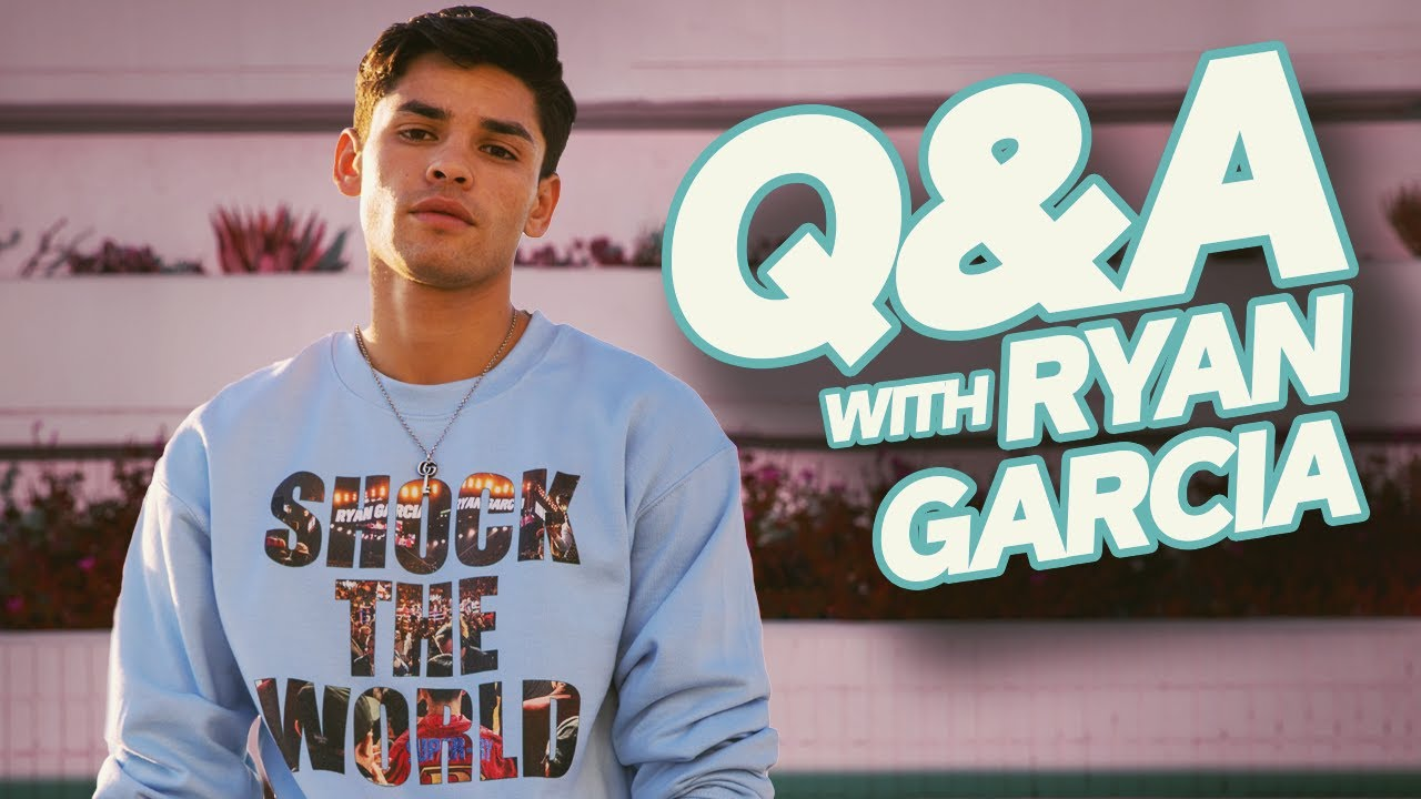 Ryan Garcia Q&A 🥊🥊 Getting ready to Knock Luke Campbell's face in! 🥊🥊