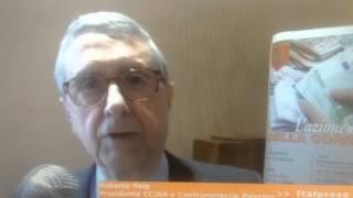 Roberto Helg, presidente camera di commercio di Palermo