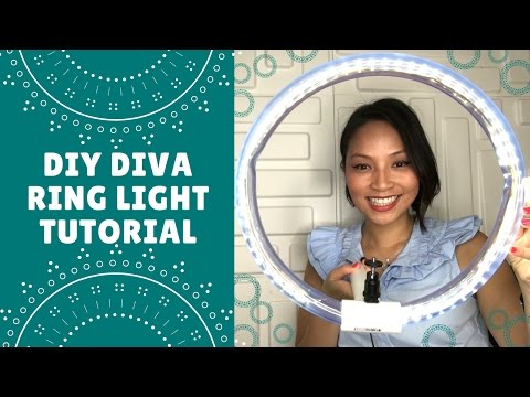 DIY Diva Ring Light Tutorial - How to make a ring light