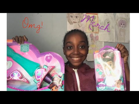 Nella The Princess Knight Merch Unboxing And Review!