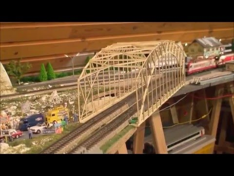 ÖBB, ÖSTERREICHER MODELLEISENBAHN,  MÄRKLIN, ROCO, PIKO, model train HO, Austria, Autriche