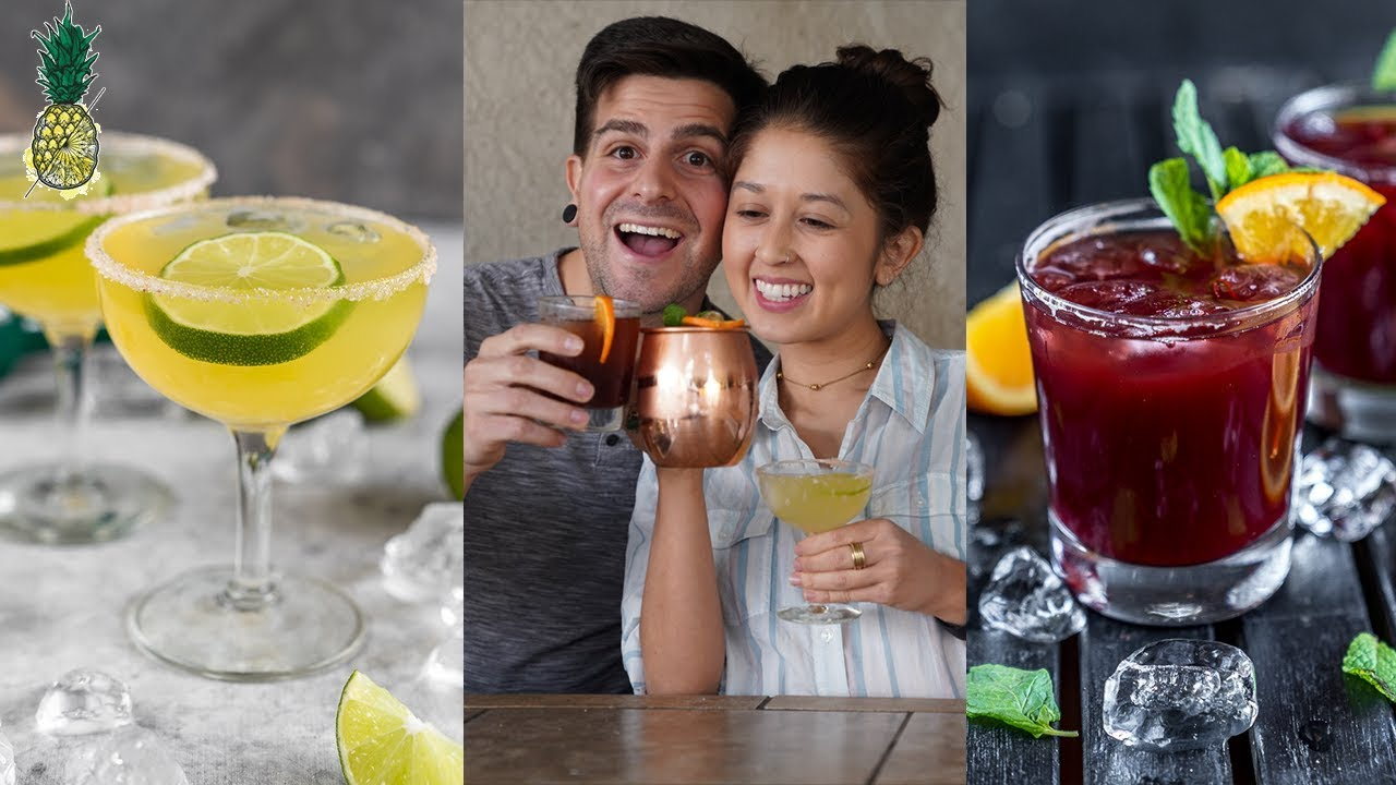 3 Must Try Cocktails For New Year's Eve | Vegan