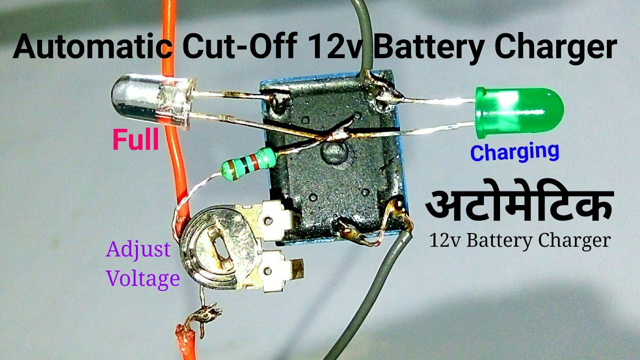 Automatic Pulse Battery Charger Circuit Charger Circuits