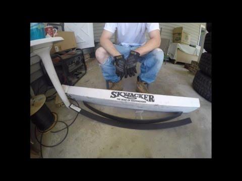 Skyjacker add-a-leaf install- pickup/4Runner