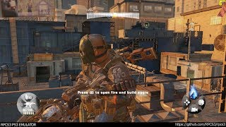 RPCS3 PS3 Emulator - Army of Two The 40th Day Ingame! VULKAN (84e7de0) LLVM