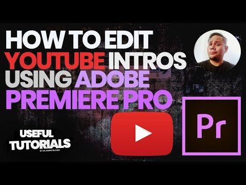 HOW TO MAKE YOUTUBE INTRO USING ADOBE PREMIERE PRO | USEFUL TUTORIALS thumbnail