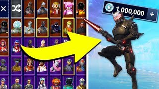 EPISCHE SPIELE ENTSPERREN MEIN KONTO! *KAUFEN 1.000.000 V BUCKS!* | Fortnite Battle Royale Gameplay