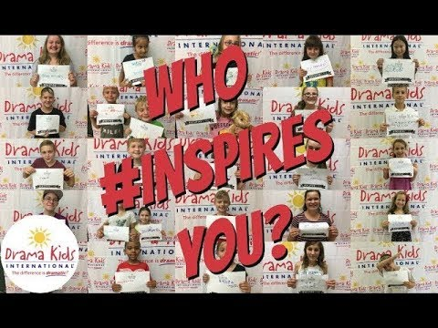 Who #INSPIRES you? - YouTube