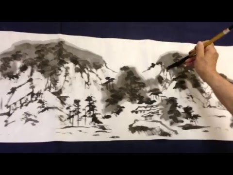 Traditional Chinese Painting by Cheng Ming 001