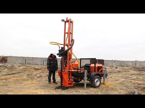 Мини-буровая установка STRONG S 200, компактная и технологичная