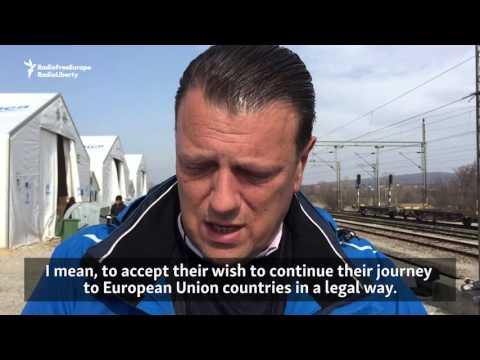Migrants Pile Up At Serb-Macedonian Border