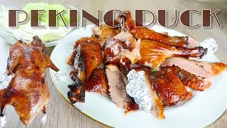 How to roast Peking duck at home no professional tools needed 北京烤鴨在家做
