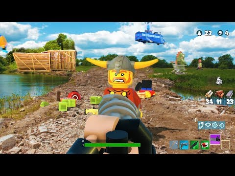 LEGO Fortnite   First Person Action
