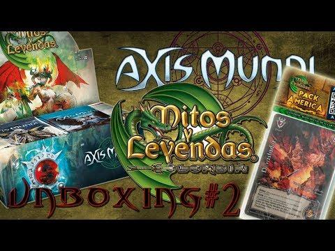 Mitos y Leyendas - [Unboxing #2] Pack America y Axis Mundi