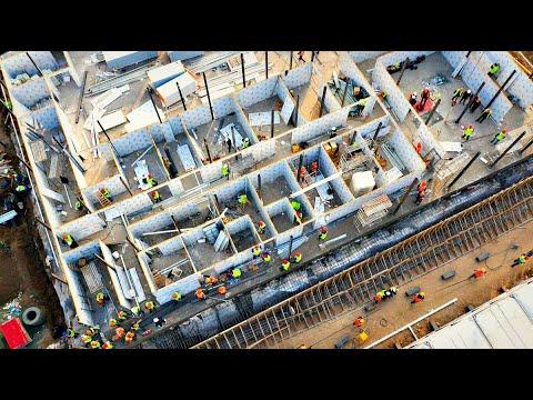 Как китайцы построили больницу за 10 дней