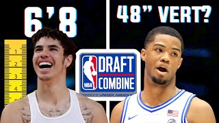CRAZY MEASUREMENTS From The 2020 NBA DRAFT COMBINE You Haven't Heard Of!