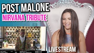 Download lagu Vocal Coach Reacts to Post Malone x Nirvana Tribute