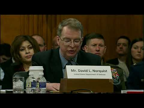 DFN: DoD's Audit and Business Operations Reform, WASHINGTON, DC, UNITED STATES, 03.07.2018