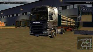 GAMEPLAY - Scania Truck Driving Simulator: Tubi piccoli (MOD Scania R Topline 4x2)