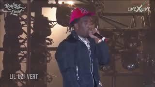 "Lil Uzi Vert preforming ""Racks"" off of Eternal Atake live at Rolling Loud LA"