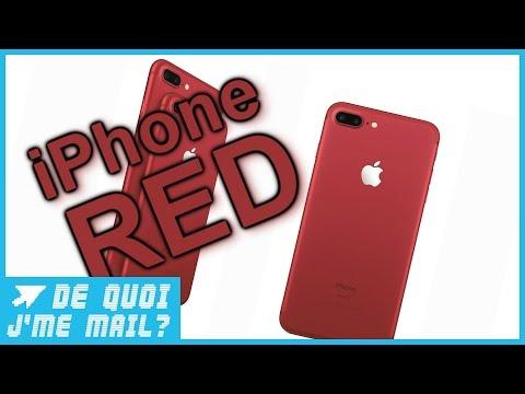 Apple met du rouge dans son iPhone 7  DQJMM (1/3)
