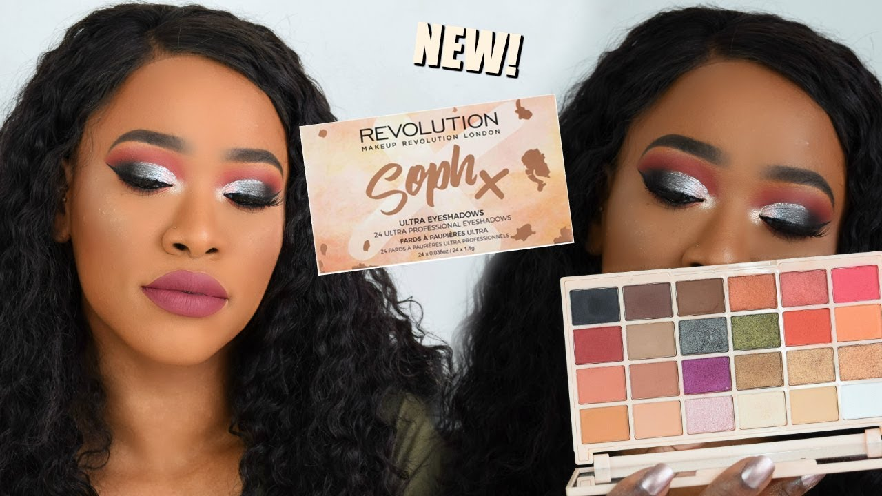 Testing Soph X Makeup Revolution Eyeshadow Palette Youtube