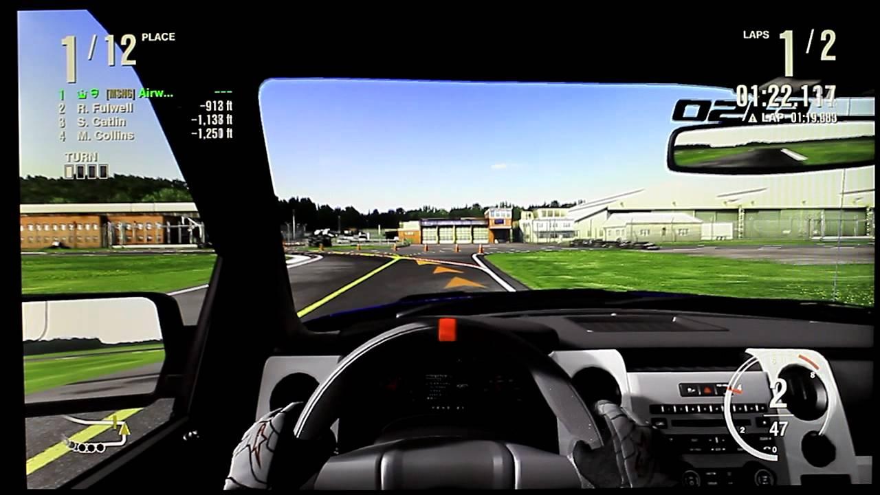 FM4 2011 Ford F150 SVT Raptor on Top Gear UK Test Track  YouTube