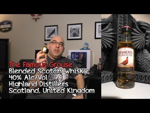 The Famous Grouse Blended Scotch Whisky Review - Drinking In Canada