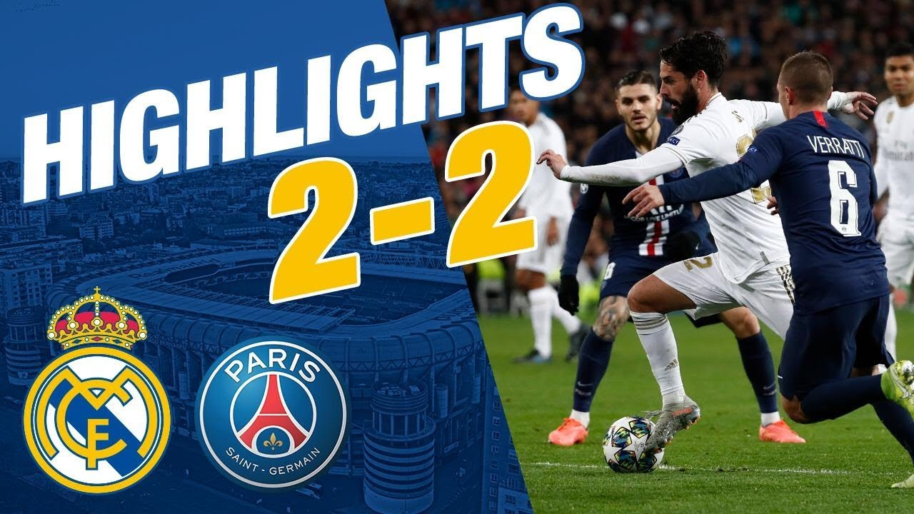 Download GOALS AND HIGHLIGHTS | Real Madrid 2-2 PSG
