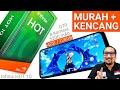 - Murah 1.8-1.95 jt, 4GB/128GB, Kencang: Review Infinix HOT 10 HP Gaming?