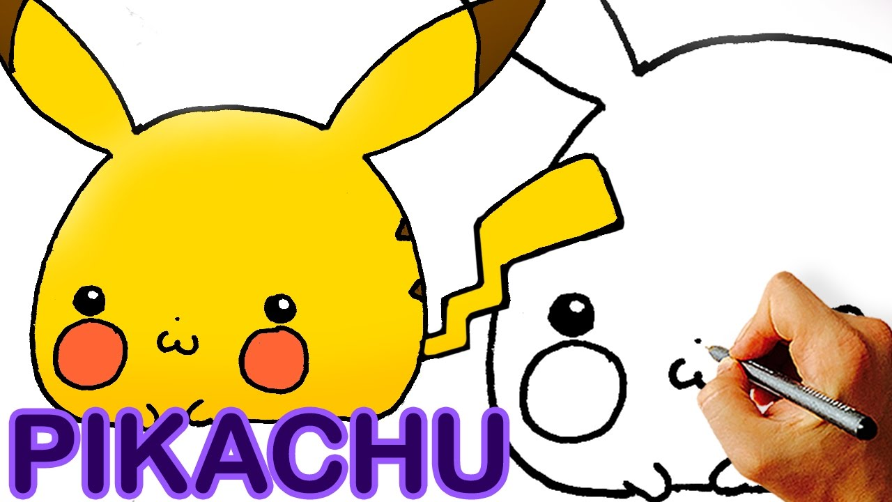 Very Easy! How to Draw Cute Chibi Pikachu Step by Step ...