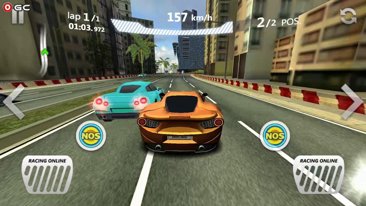 sports car racing / mobile racing game simulator / android