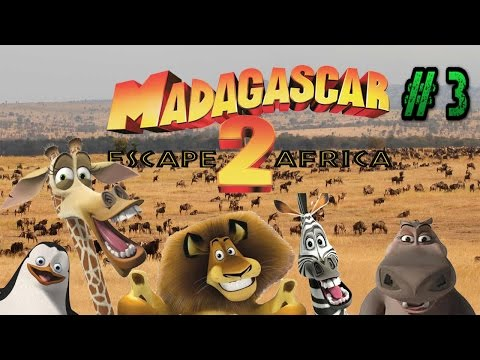 Let's Play: Madagascar Escape 2 Africa for the PS2: Part 3: Gameplay and Commentary