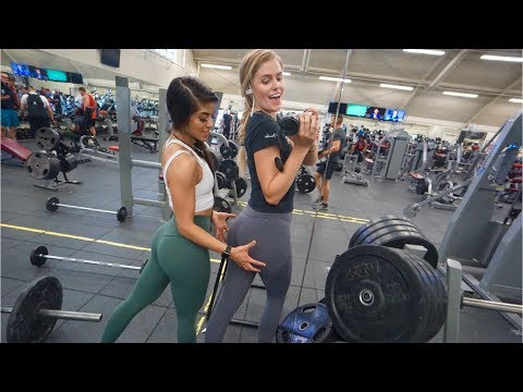 THE BEST GLUTE WORKOUT FT LEXY ITS INTENSE
