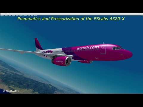 FSLabs A320-X Basics: Bleed Air and Pressurization