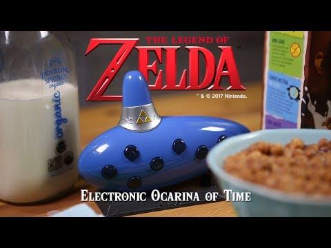 Legend of Zelda Electronic Ocarina of Time From ThinkGeek