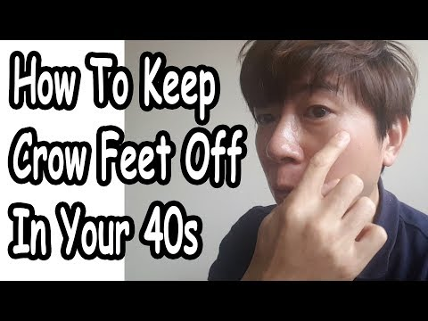 Korean Routine – How To Prevent Crows Feet In Your 40s (No Botox!)